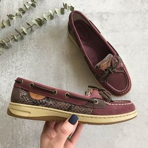 SPERRY Wine Python Angelfish 7